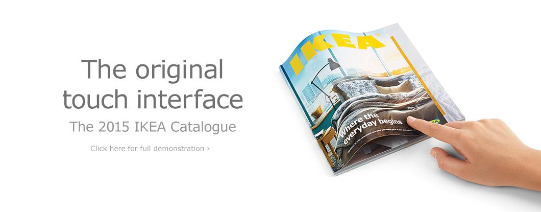 Printing Case Study The 2015 Ikea Catalog